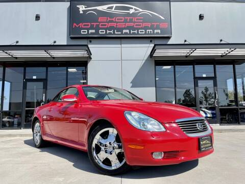 2005 Lexus SC 430 for sale at Exotic Motorsports of Oklahoma in Edmond OK