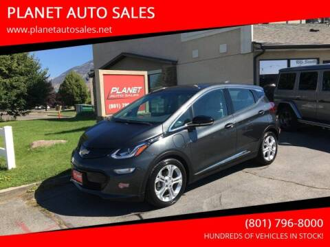 2018 Chevrolet Bolt EV for sale at PLANET AUTO SALES in Lindon UT