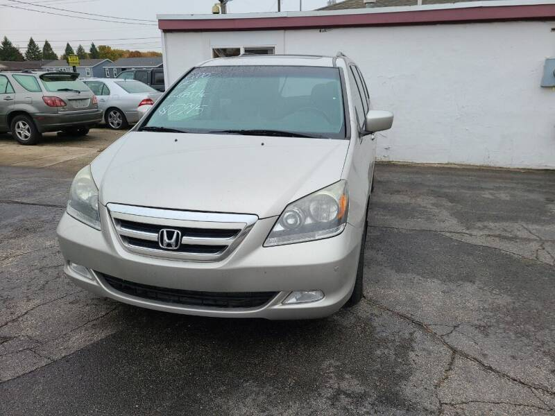 2007 Honda Odyssey for sale at All State Auto Sales, INC in Kentwood MI