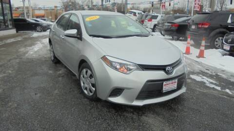 2015 Toyota Corolla for sale at Absolute Motors 2 in Hammond IN