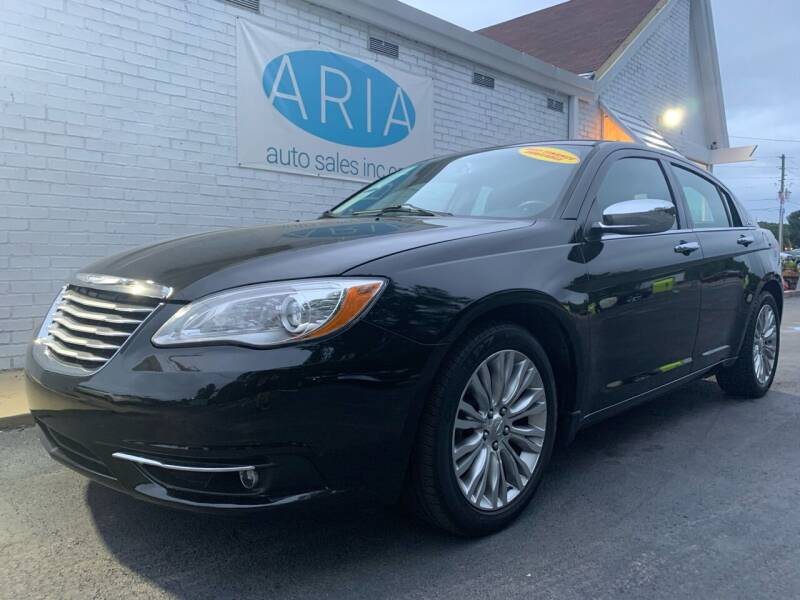 2013 Chrysler 200 for sale at ARIA AUTO SALES in Raleigh NC