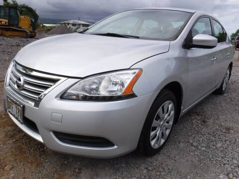 2014 Nissan Sentra for sale at PONO'S USED CARS in Hilo HI