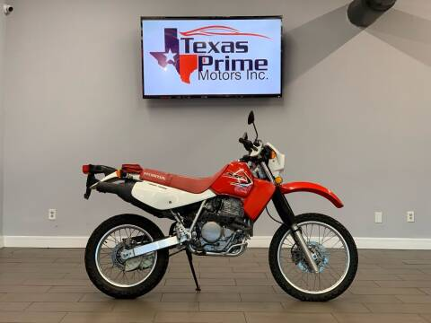 2012 Honda XR650L for sale at Texas Prime Motors in Houston TX