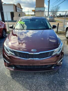 2019 Kia Optima for sale at Dependable Auto Sales in Montgomery AL
