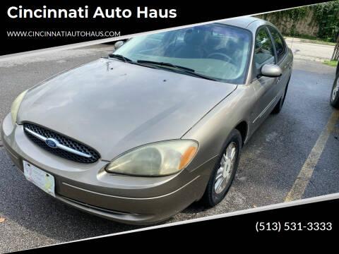 2003 Ford Taurus for sale at Cincinnati Auto Haus in Cincinnati OH