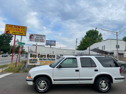 1998 Chevrolet Blazer for sale at Cherokee Auto Sales in Knoxville TN
