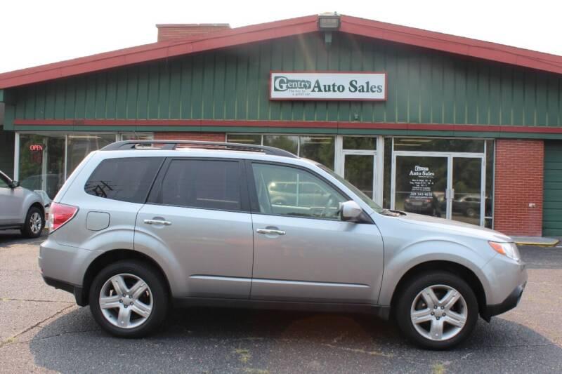 2010 Subaru Forester for sale at Gentry Auto Sales in Portage MI
