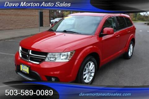 2013 Dodge Journey for sale at Dave Morton Auto Sales in Salem OR