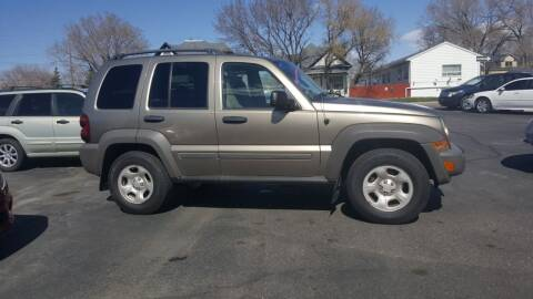 2007 Jeep Liberty for sale at BRAMBILA MOTORS in Pocatello ID