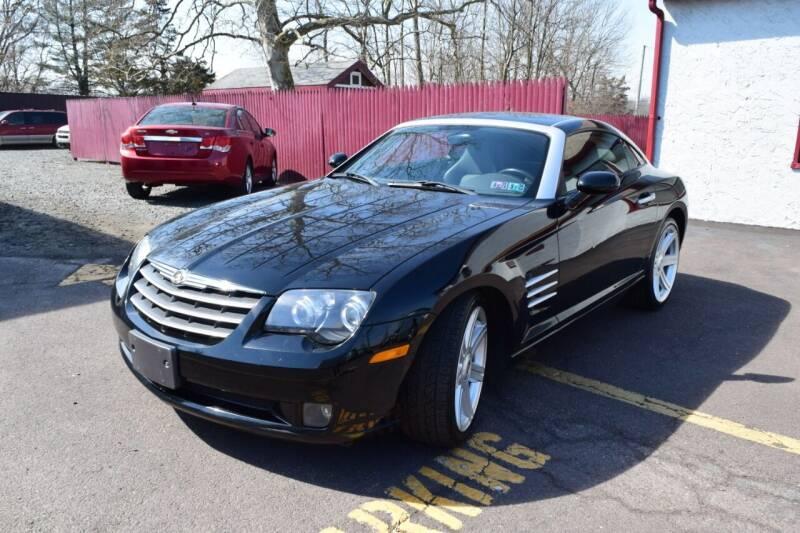 2004 Chrysler Crossfire for sale at L&J AUTO SALES in Birdsboro PA