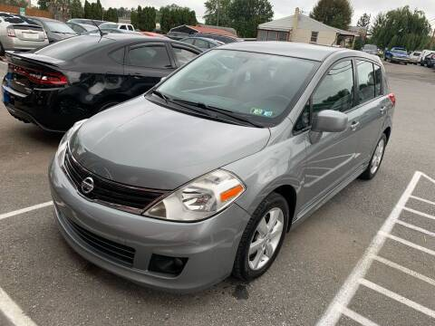 2012 Nissan Versa for sale at Sam's Auto in Akron PA