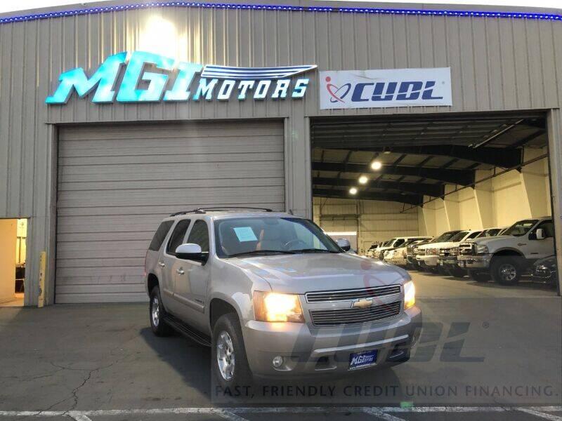 2007 Chevrolet Tahoe for sale at MGI Motors in Sacramento CA