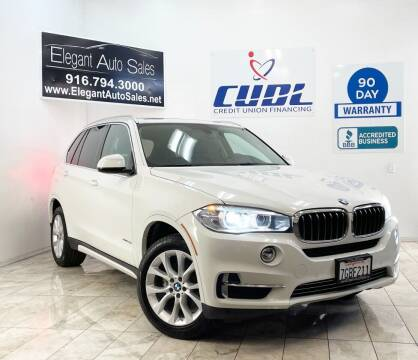 2014 BMW X5 for sale at Elegant Auto Sales in Rancho Cordova CA