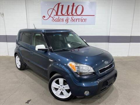 2010 Kia Soul for sale at Auto Sales & Service Wholesale in Indianapolis IN