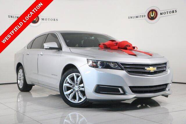 2016 Chevrolet Impala for sale at INDY'S UNLIMITED MOTORS - UNLIMITED MOTORS in Westfield IN