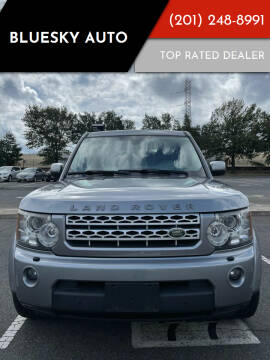 2012 Land Rover LR4 for sale at Bluesky Auto in Bound Brook NJ