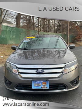 2011 Ford Fusion for sale at L A Used Cars in Abington MA