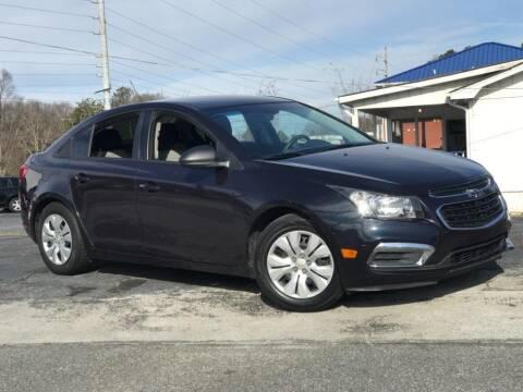 2015 Chevrolet Cruze for sale at Town Square Motors in Lawrenceville GA