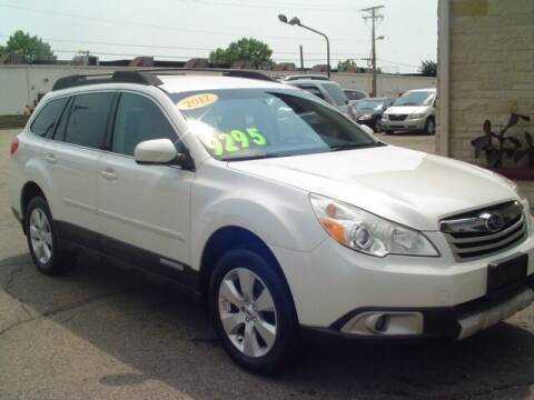 2012 Subaru Outback for sale at G & L Auto Sales Inc in Roseville MI