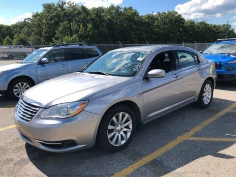 2013 Chrysler 200 for sale at Plymouthe Motors in Leominster MA