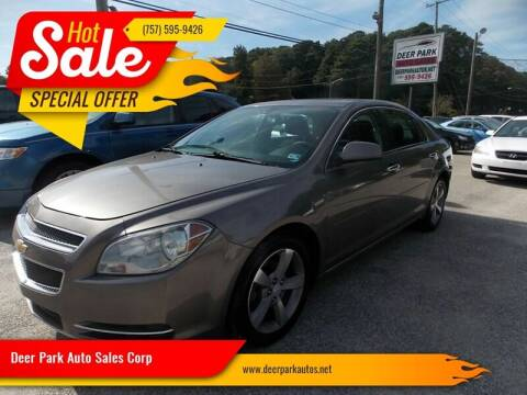 2012 Chevrolet Malibu for sale at Deer Park Auto Sales Corp in Newport News VA