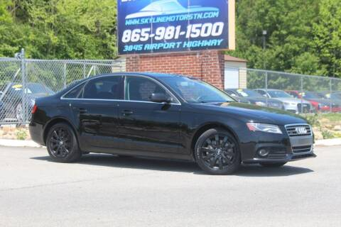 2011 Audi A4 for sale at Skyline Motors in Louisville TN