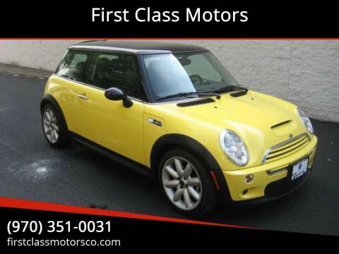 2005 MINI Cooper for sale at First Class Motors in Greeley CO
