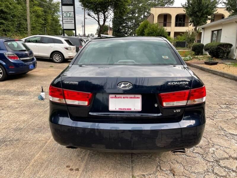 2006 Hyundai Sonata for sale at ADVOCATE AUTO BROKERS INC in Atlanta GA