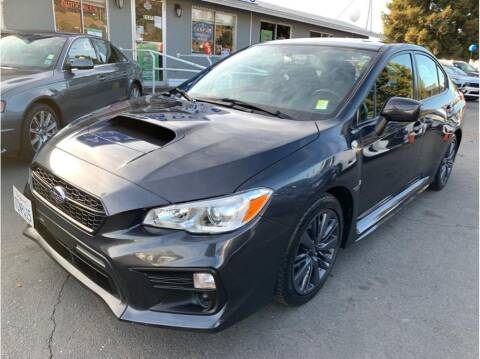 2018 Subaru WRX for sale at AutoDeals in Hayward CA