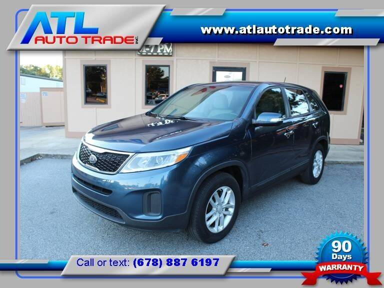 2014 Kia Sorento for sale at ATL Auto Trade, Inc. in Stone Mountain GA