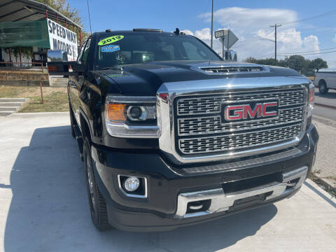 2019 GMC Sierra 2500HD for sale at Speedway Motors TX in Fort Worth TX
