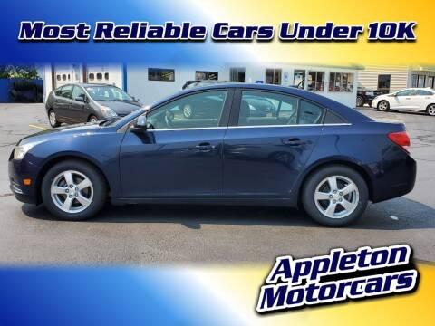 2011 Chevrolet Cruze for sale at Appleton Motorcars Sales & Service in Appleton WI