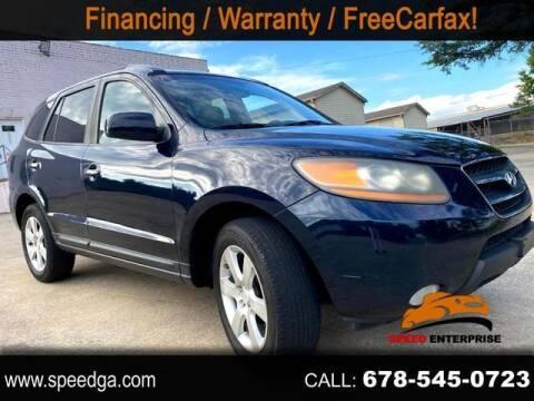 2008 Hyundai Santa Fe for sale at JES Auto Sales LLC in Fairburn GA