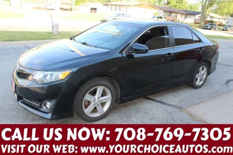 2013 Toyota Camry for sale at Your Choice Autos in Posen IL
