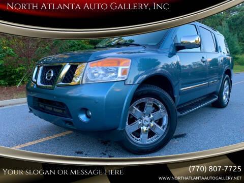 2011 Nissan Armada for sale at North Atlanta Auto Gallery, Inc in Alpharetta GA