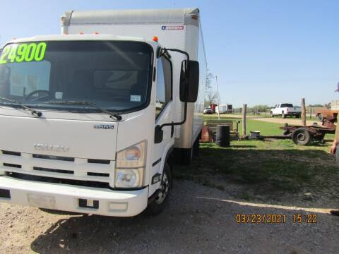 2012 Isuzu NPR for sale at Hill Top Sales in Brenham TX