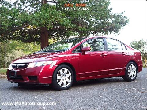 2010 Honda Civic for sale at M2 Auto Group Llc. EAST BRUNSWICK in East Brunswick NJ