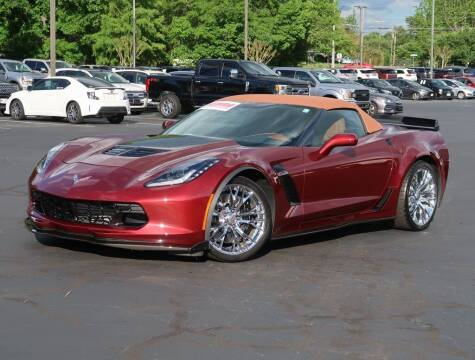 2017 Chevrolet Corvette for sale at Stearns Ford in Burlington NC