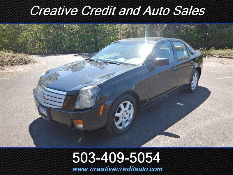 2007 Cadillac CTS for sale at Creative Credit & Auto Sales in Salem OR