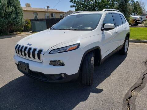 2017 Jeep Cherokee for sale at Lifetime Auto LLC in Commerce City CO