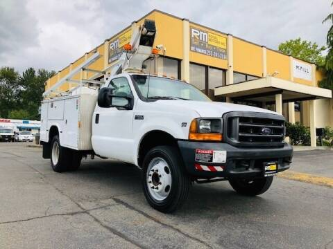 2000 Ford F-450 Super Duty for sale at Royal Motors Inc in Kent WA
