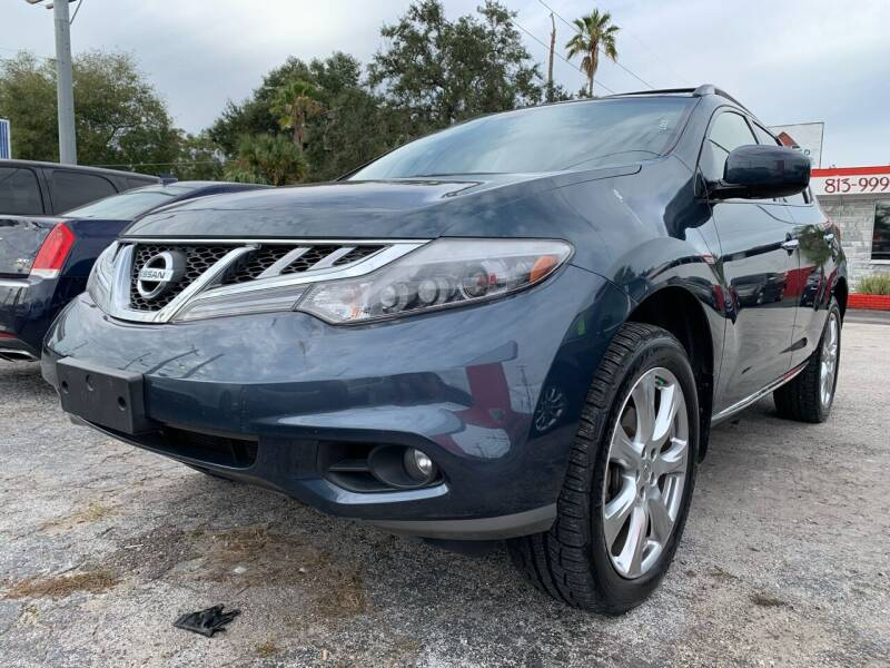 2013 Nissan Murano for sale at Always Approved Autos in Tampa FL
