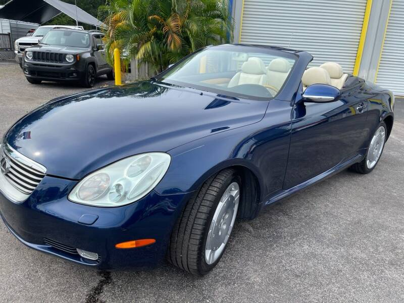2004 Lexus SC 430 for sale at RoMicco Cars and Trucks in Tampa FL