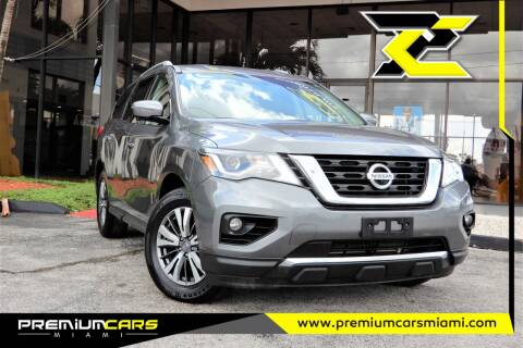 2017 Nissan Pathfinder for sale at Premium Cars of Miami in Miami FL