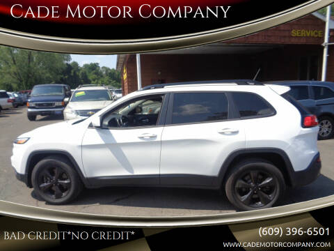 2015 Jeep Cherokee for sale at Cade Motor Company in Lawrence Township NJ
