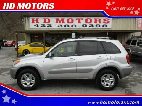 2005 Toyota RAV4 for sale at HD MOTORS in Kingsport TN