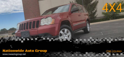 2010 Jeep Grand Cherokee for sale at Nationwide Auto Group in Melrose Park IL