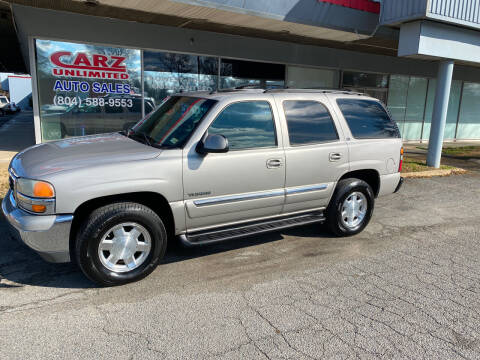 2004 GMC Yukon for sale at Carz Unlimited in Richmond VA