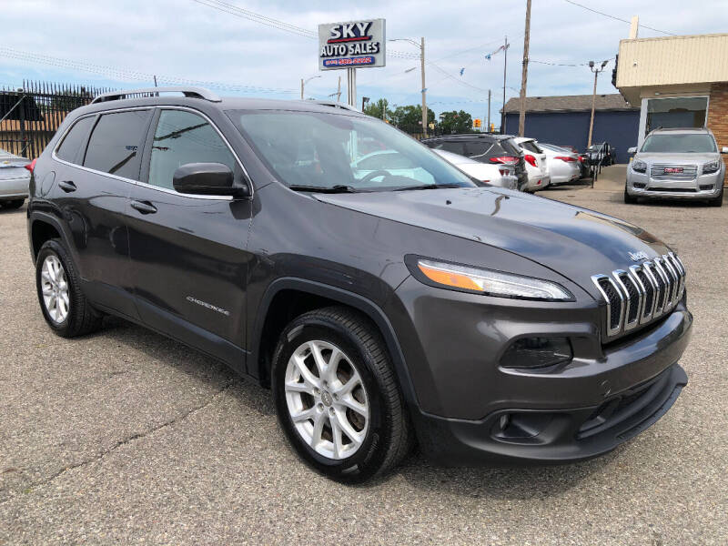 2018 Jeep Cherokee for sale at SKY AUTO SALES in Detroit MI