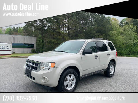 2008 Ford Escape for sale at Auto Deal Line in Alpharetta GA